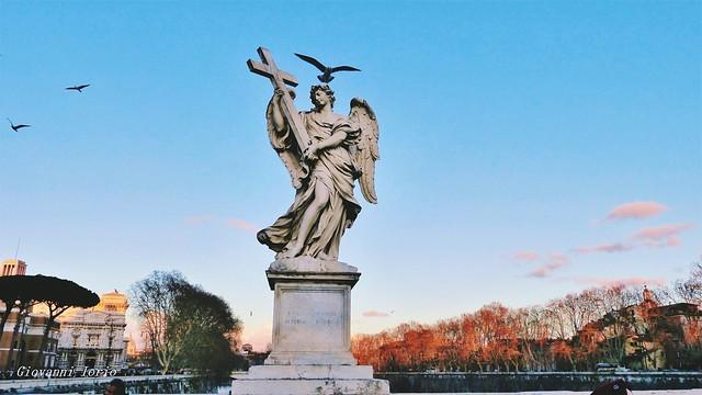 Statua con ospite