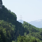Power Lines Through Nature