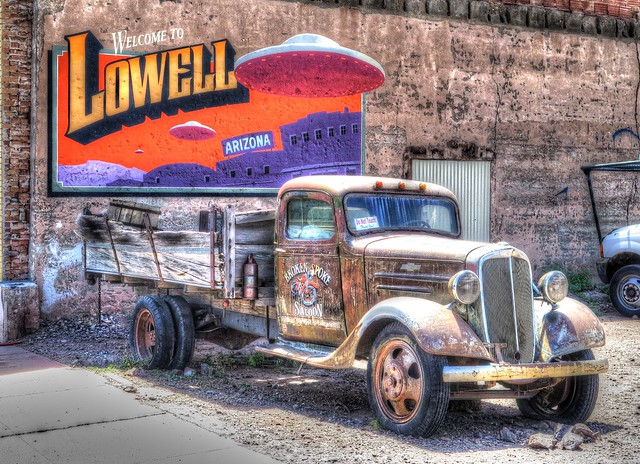 Historic District @ Lowell, Arizona, (HTT)