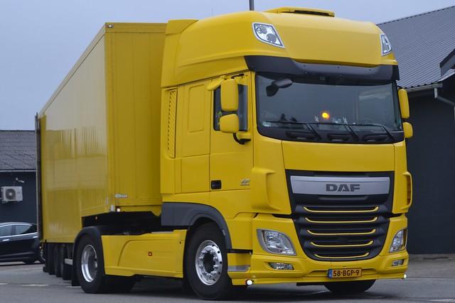 DAF XF Euro6 - NL  58-BGP-9