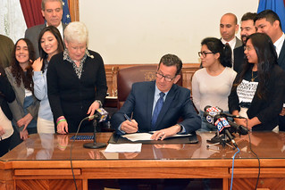 Gov. Malloy Signs Legislation Permitting Access to Financial Aid for Connecticut Dreamers | by Office of Governor Dan Malloy