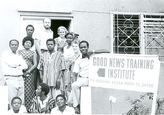 Staff of Good News Training Institute Ghana 1975