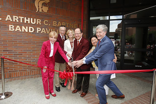 Ribbon Cutting of the Dr. Arthur C. Bartner Band Pavilion
