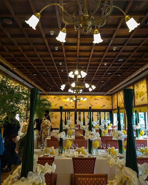 Meiji Kinenkan banquet room