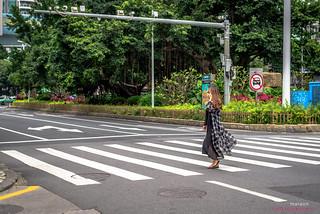 The Lady Pedestrian_1496 | by listermaraon