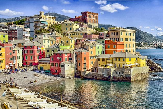 Genova-Boccadasse...