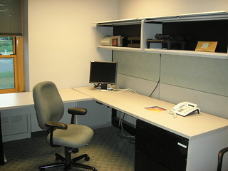 The office is now empty | by Dossy