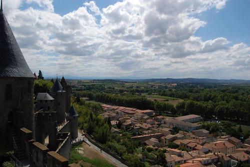 Vue depuis les remparts de Carcassonne | by La case photo de Got