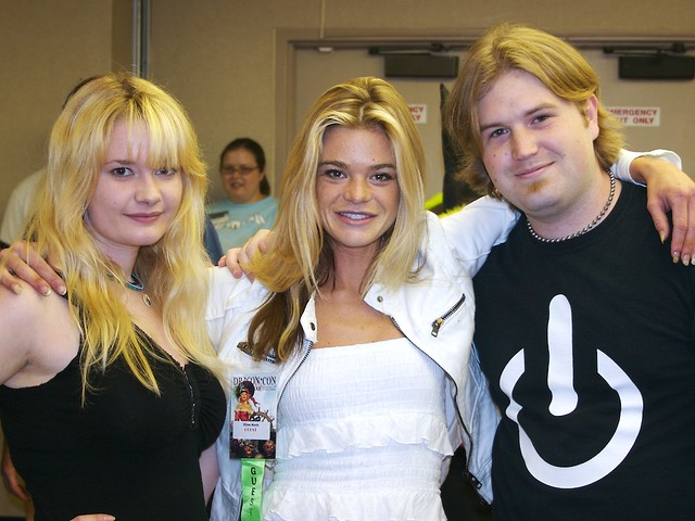 Sara, Ellen Muth and Myself