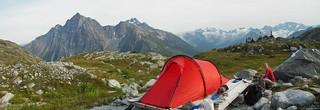 Hermit Meadows camp | by mikewarren