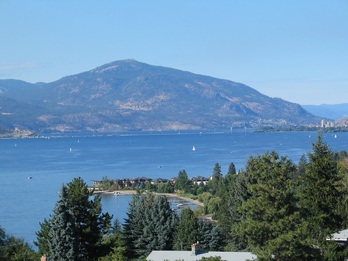 Overlooking Okanagan Lake | by [.i.c.e.]