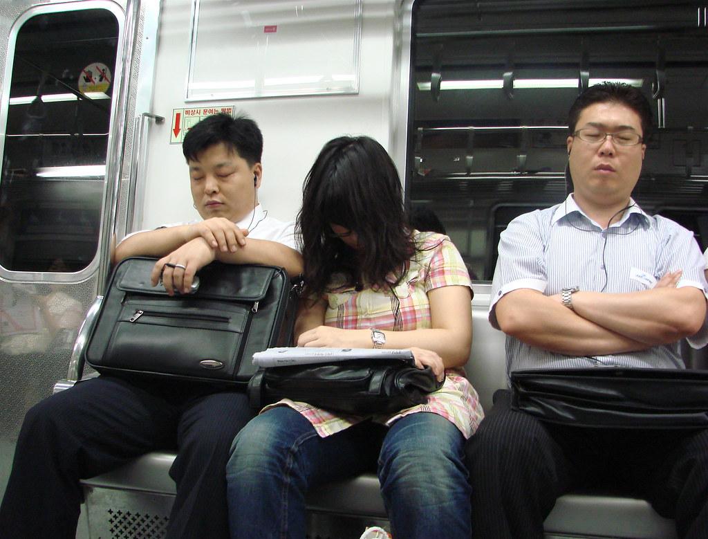 The ubiquitous metro sleepers