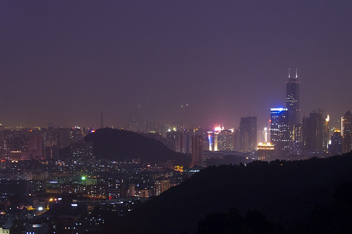 Guangzhou tonight