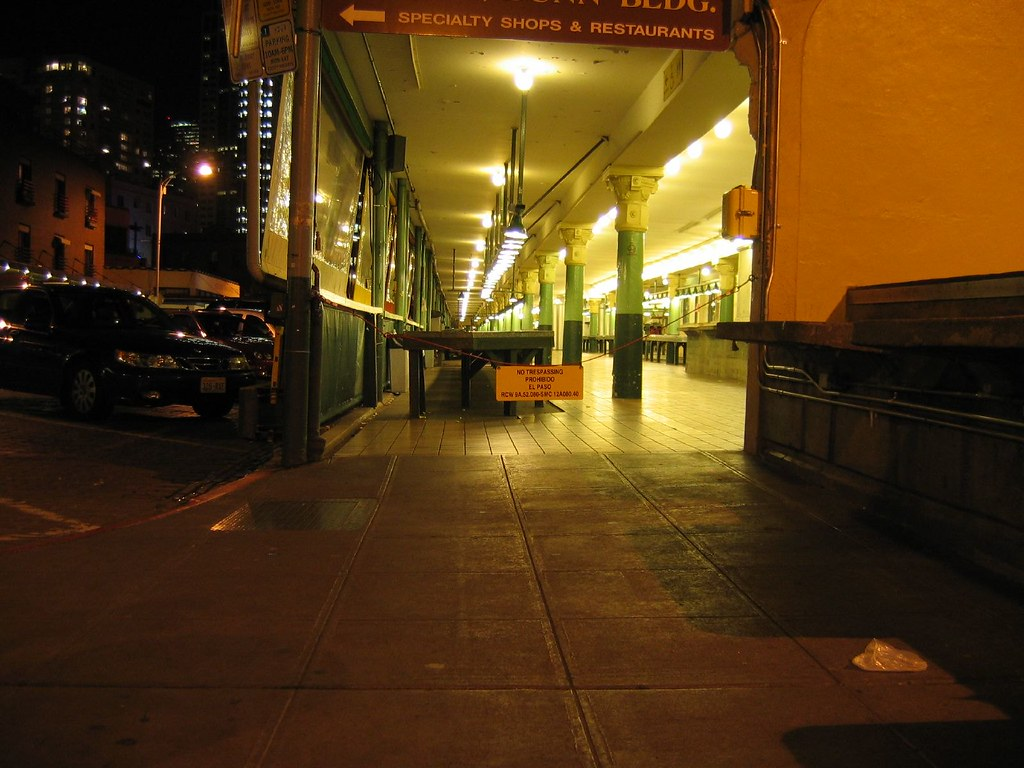 Pike Place Market After Dark