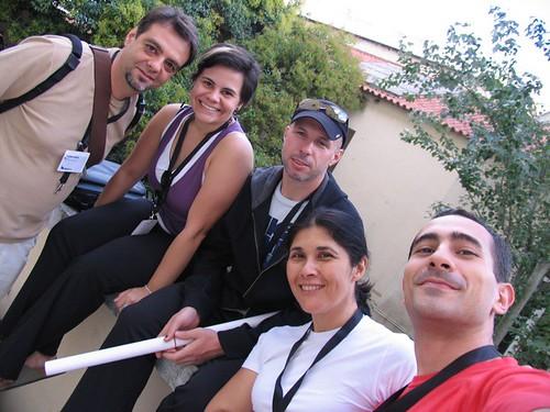 Luciano, Marina, Ariel, Fernanda, Henrique