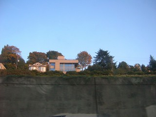 Interesting houses from I-5 | by brewbooks