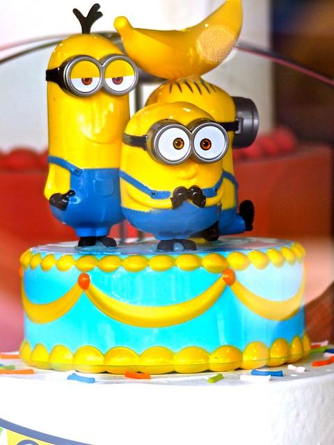 The Fun Birthday Cake! .