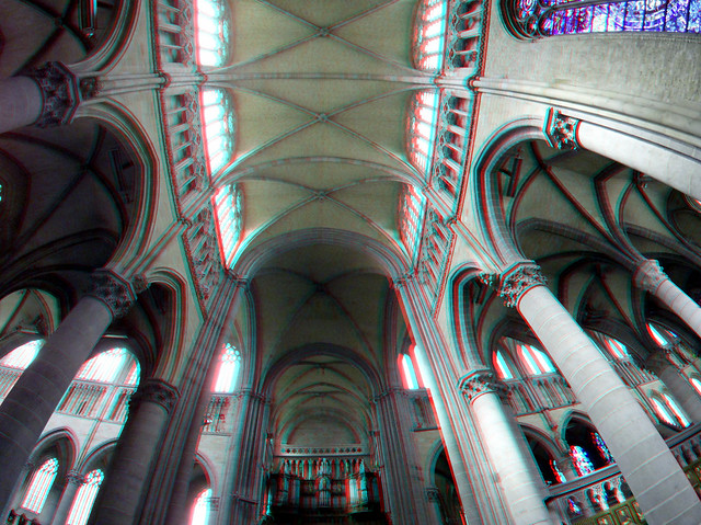 Cathedral Ypres 3D