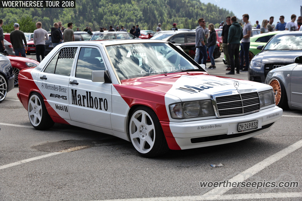Marlboro Mercedes Benz W201 190 | Wörthersee Tour GTI-Treffe… | Flickr
