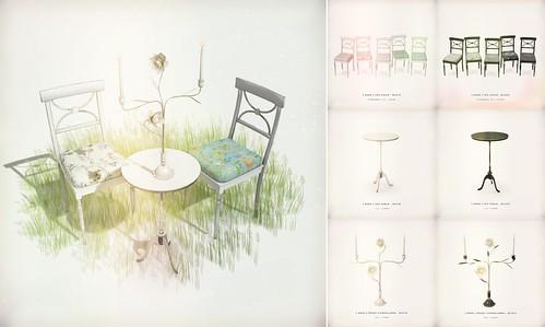 [ keke ] tea room set   by [ keke ] by Kean Kelly