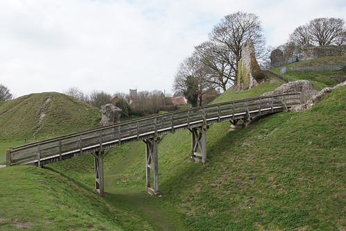 castleacre castleacrecastle norfoik england englishheritage uk eastanglia castle ramparts