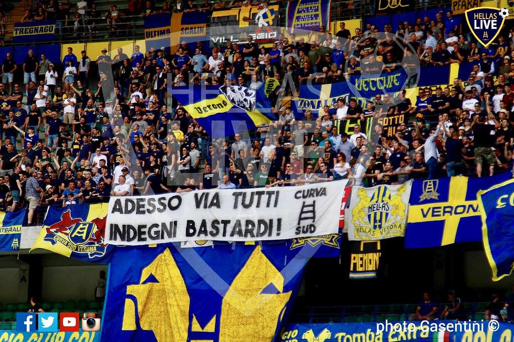 Finale, Hellas Verona-Udinese 0-1 | L'Hellas Verona saluta ...