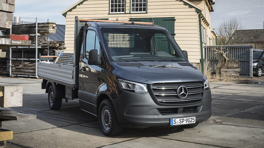 f6c93a0ed0 ... Aussiefordadverts 2019 Mercedes Benz Sprinter Pickup Press Photo -  Germany