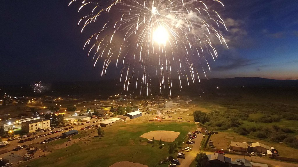 4th of July Fireworks in White Sulphur Springs