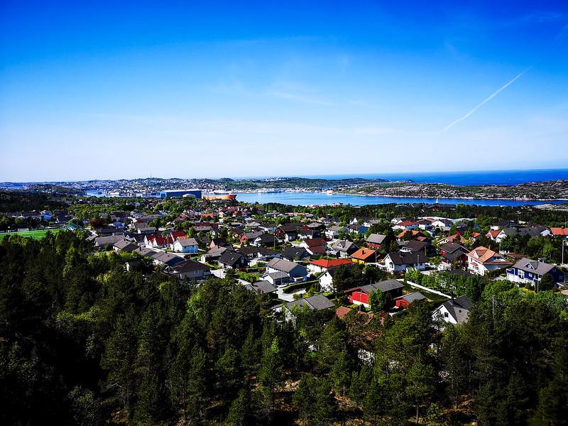 35-Utsikt over Kristiansund fra Kvernberget