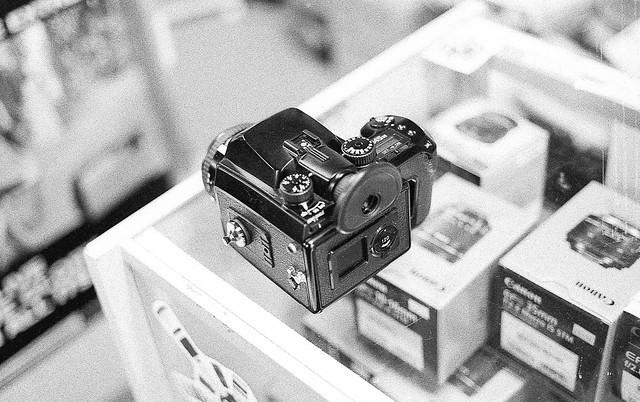T-Max P3200 / Contax G1 / 45mm f/2