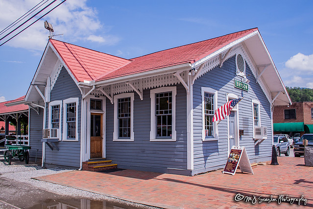 Bryson City Depot | Great Smoky Mountains Railroad | Bryson City, North Carolina