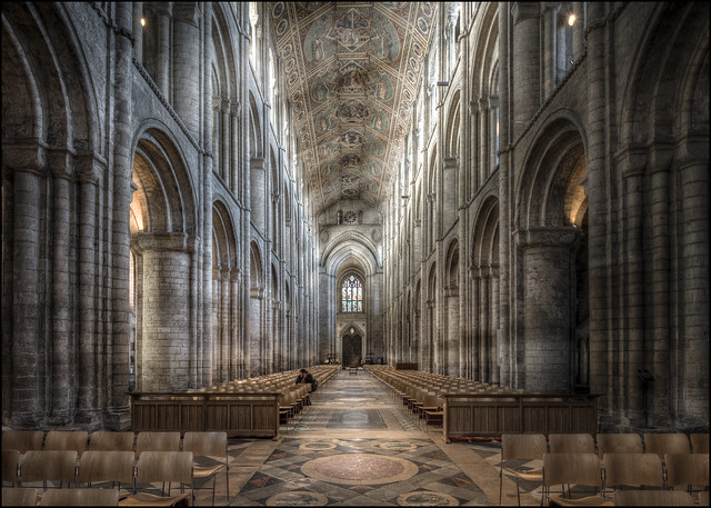 Ely Cathedral - Hotline to God