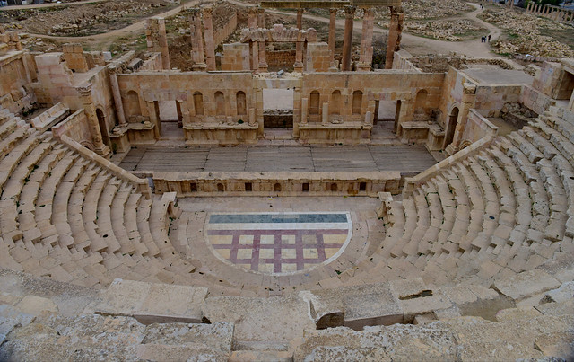 Northern Theatre, Jerash, Jordan, January 2018 320