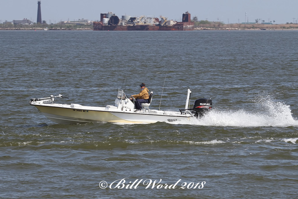 Haynie 21ft Z21 bay fishing boat | Houston Ship Channel from… | Flickr