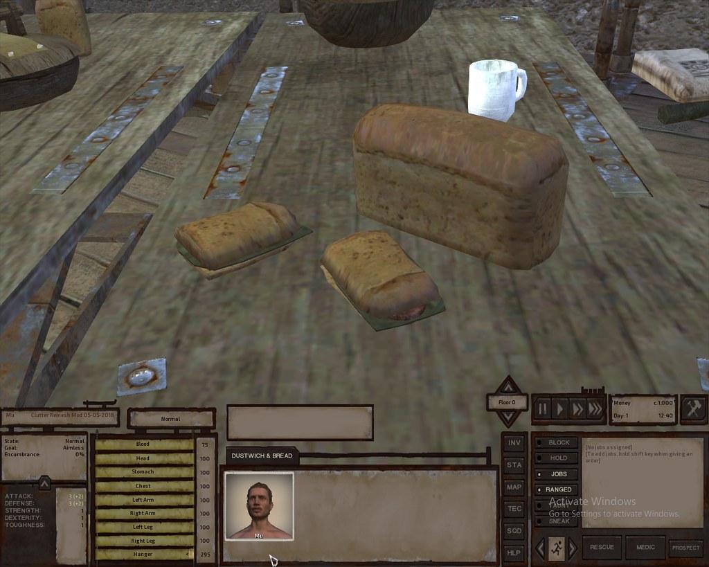 Kenshi Game - Clutter Remesh Mod - Dustwich & Bread - 05-0