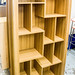 Rio walnut demo bookcase E150