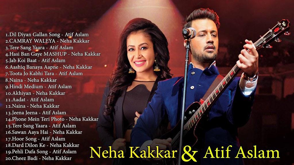 Best of Atif Aslam & Neha Kakkar   Romantic Hindi Songs Me