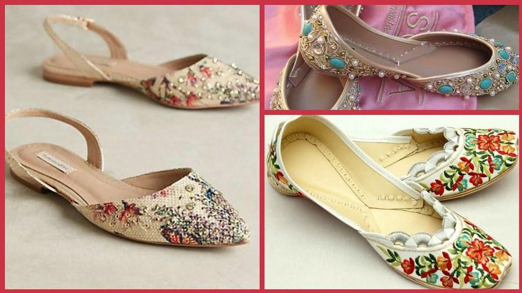 Top Beautiful Khussa Designs For Girls