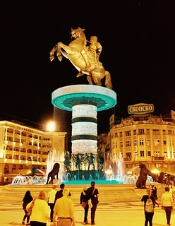 201705 - Balkans - Statue of Alexander the Great - 92 of 101 - Macedonia Square - Skopje, Skopje, May 30, 2017 | by mrflip