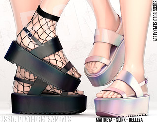 Reign.- Ossia Platform Sandals | by REIGN♥