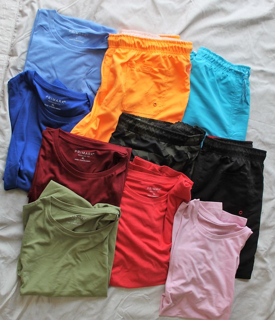 T-shirts and shorts tick
