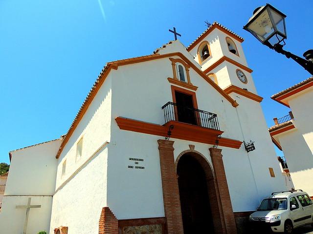 <Iglesia San Miguel Arcángel> Guaro (Málaga)
