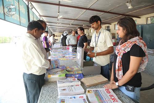 Devotees pickup Nirankari Periodicals