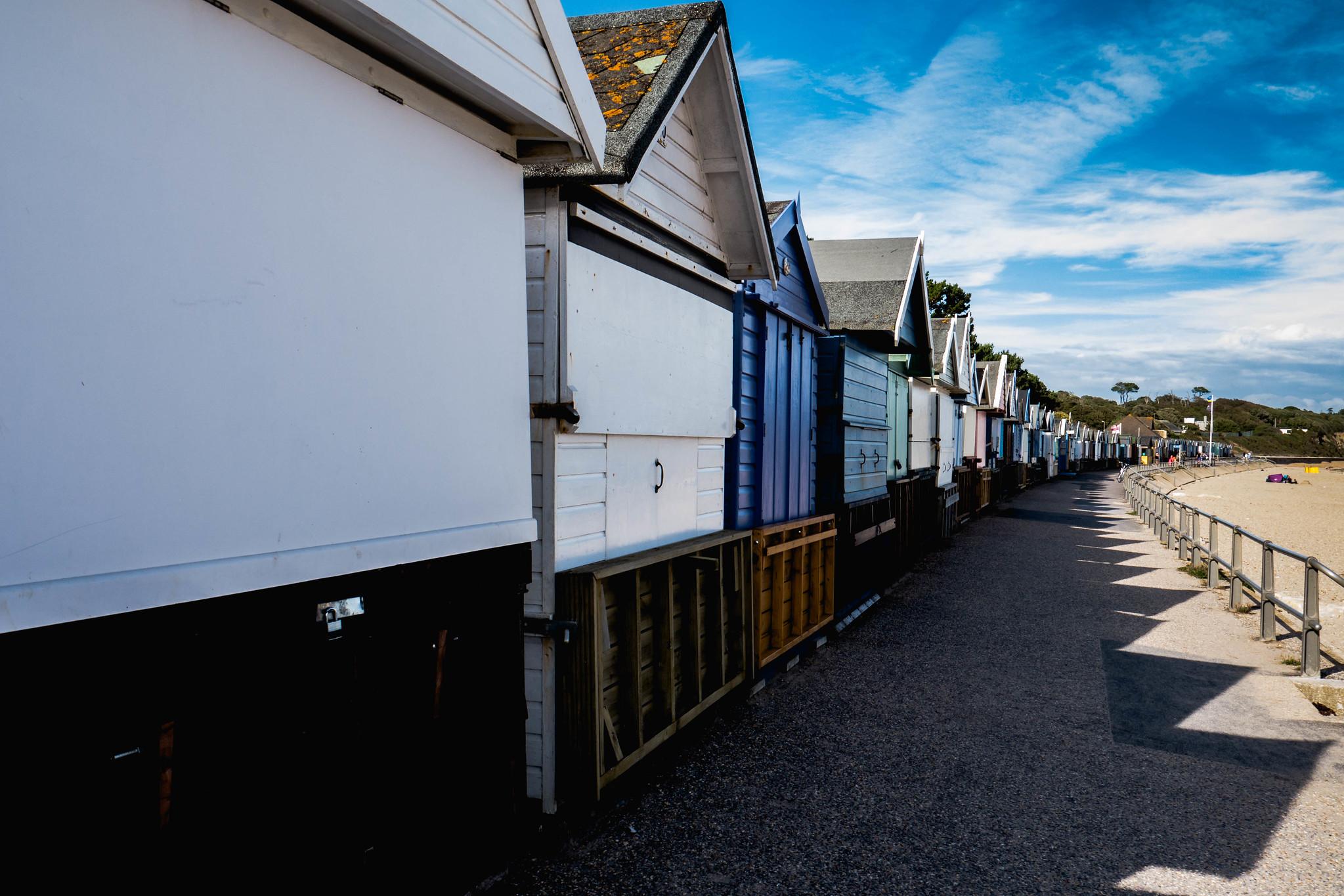 Beach Huts at Mudeford