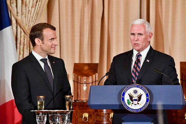 Vice President Pence Delivers Remarks at the State Luncheon in Washington