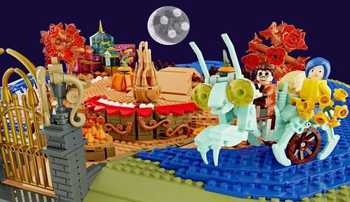 The Coraline Magical Garden - LEGO Ideas - 1