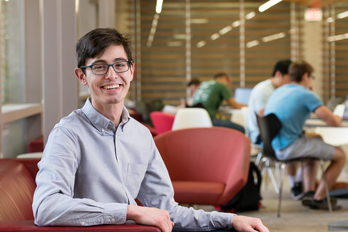 Nick Walker, Computer Science, Honors | by College of Natural Sciences