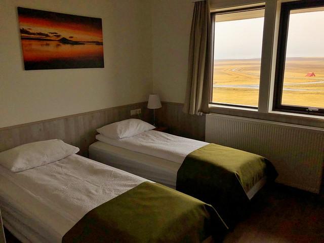 Habitación de hotel en Islandia