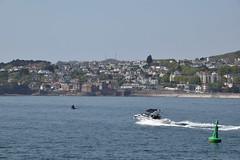Speedboat on Tor Bay