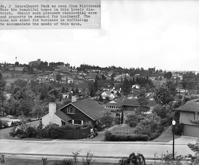 Houses in Laurelhurst, 1955